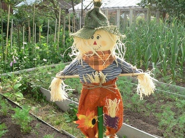Сшить огородное чучело
