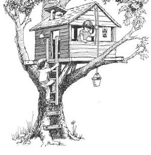 домик на дереве картинки_domik_na_dereve_kartinki