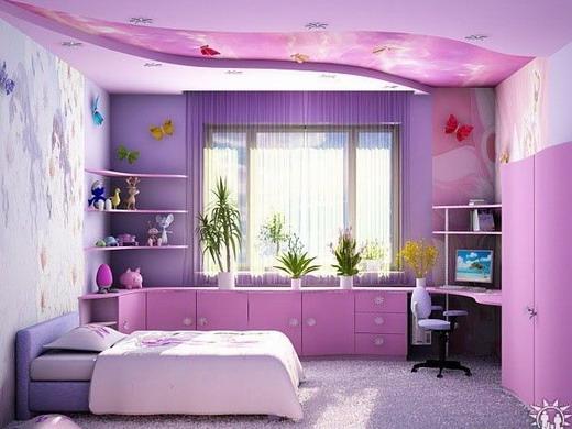 оформление детской комнаты для девочки _ oformlenie detskoj komnaty dlya devochki